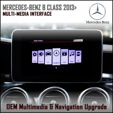 Adaptiv ADV-MB2 Mercedes Benz B Class 2013 (NTG 4.5) Factory OEM Multimedia SATNAV/USB/SD/AUX Upgrade