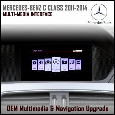 Adaptiv ADV-MB3 Mercedes Benz C Class 2011 - 2014 (W204), GLK (NTG 4.5) Factory OEM Multimedia SATNAV/USB/SD/AUX Upgrade