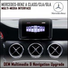 Adaptiv ADV-MB1 Mercedes Benz A Class,GLA,CLA Factory OEM Multimedia SATNAV/USB/SD/AUX Upgrade