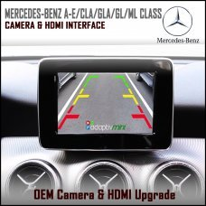 Adaptiv Mini ADVM-MB1 Mercedes Benz A/B/C/E/CLA/GLA/GL/ML Class Factory OEM Screen HDMI/Front & Rear Camera Upgrade