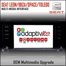 Adaptiv Lite ADVL-ST1 Seat Leon/Ibiza/Spaceback/Toledo Factory OEM Multimedia HDMI/USB/SD/AUX Upgrade