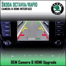 Adaptiv Mini ADVM-SK1 Skoda Octavia/Rapid With Factory OEM Screen HDMI/Front & Rear Camera Upgrade