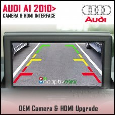 Adaptiv Mini ADVM-AU5 Audi A1 2010> Factory OEM Screen HDMI/Front & Rear Camera Upgrade