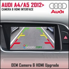 Adaptiv Mini ADVM-AU2 Audi A4 2012 - 2015, A5 2012> Factory OEM Screen HDMI/Front & Rear Camera Upgrade