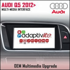 Adaptiv Lite ADVL-AU4 Audi Q5 2012-2016 Factory OEM Multimedia HDMI/USB/SD/AUX Upgrade