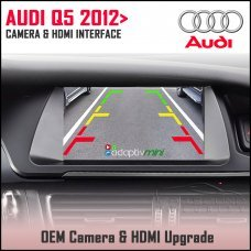 Adaptiv Mini ADVM-AU4 Audi Q5 2012 - 2016 Factory OEM Screen HDMI/Front & Rear Camera Upgrade
