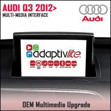 Adaptiv Lite ADVL-AU3 Audi Q3 2012> Factory OEM Multimedia HDMI/USB/SD/AUX Upgrade