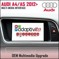Adaptiv Lite ADVL-AU2 Audi A4 2012-15, A5 2012> Factory OEM Multimedia HDMI/USB/SD/AUX Upgrade