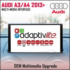 Adaptiv Lite ADVL-AU1 Audi A3 2013>/A4 2015> Factory OEM Multimedia HDMI/USB/SD/AUX Upgrade
