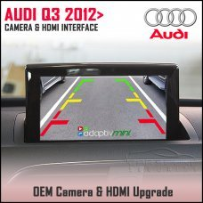 Adaptiv Mini ADVM-AU3 Audi Q3 12> Factory OEM Screen HDMI/Front & Rear Camera Upgrade