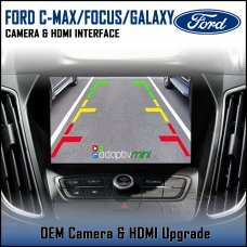 Adaptiv Mini ADVM-FD1 Ford C-Max/Focus/Galaxy 2017> with Sync 3 Factory OEM Screen HDMI/Front & Rear Camera Upgrade