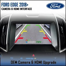 Adaptiv Mini ADVM-FD1 Ford Edge 2018> with Sync 3 Factory OEM Screen HDMI/Front & Rear Camera Upgrade