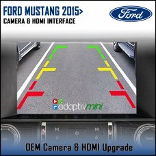 Adaptiv Mini ADVM-FD1 Ford Mustang 2015> with Sync 3 Factory OEM Screen HDMI/Front & Rear Camera Upgrade