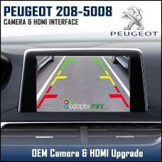 Adaptiv Mini ADVM-PSA1 Peugeot 208/508/3008/5008 With Factory OEM Screen HDMI/Front & Rear Camera Upgrade
