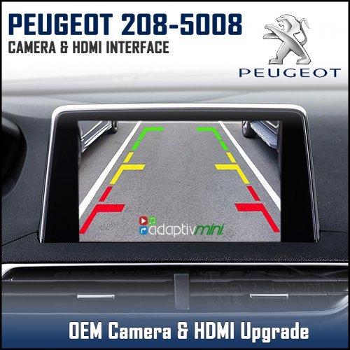 Adaptiv Mini Advm Psa1 Peugeot 208 508 3008 5008 With Factory Oem Screen Hdmi Front Rear Camera Upgrade