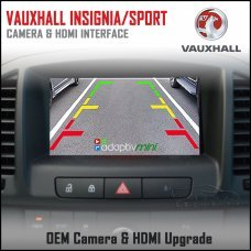Adaptiv Mini ADVM-GM1 Vauxhall Insignia 2013>/Grand Sport 2017> Factory OEM Screen HDMI/Front & Rear Camera Upgrade