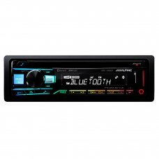 Alpine CDE 203BT Bluetooth CD MP3 FLAC USB AUX RDS Tuner Car Stereo