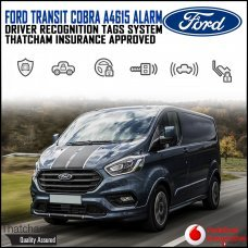 Cobra A4615 Ford Transit Van Alarm System with Advanced Driver Recognition Tags