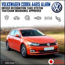 Cobra A4615 Volkswagen Alarm System with Advanced Driver Recognition Tags