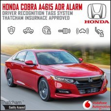 Cobra A4615 Honda Alarm System with Advanced Driver Recognition Tags